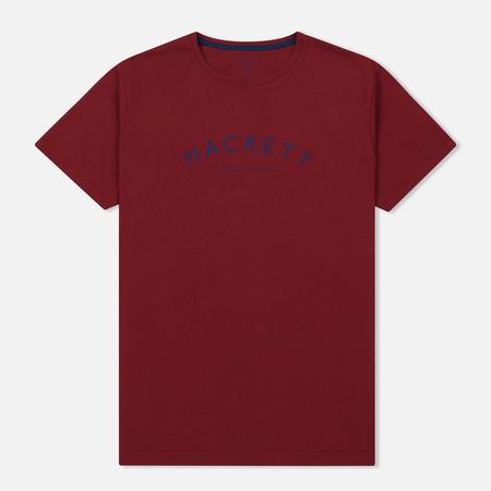 Мужская футболка Hackett Mr. Classic Crimson