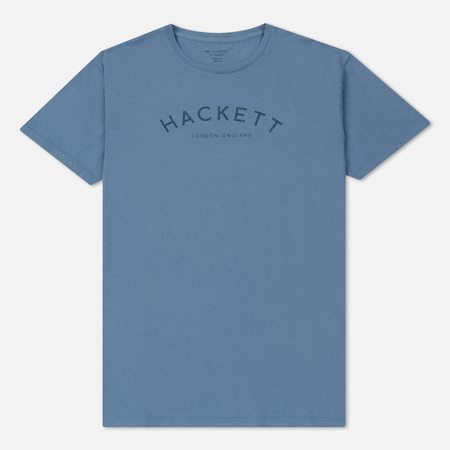 Мужская футболка Hackett Mr. Classic Light Blue