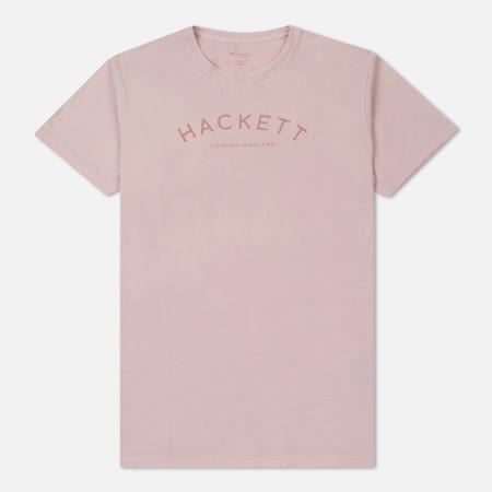 Мужская футболка Hackett Mr. Classic Washed Pink