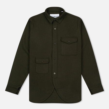 Han Kjobenhavn Army Men's Shirt Green