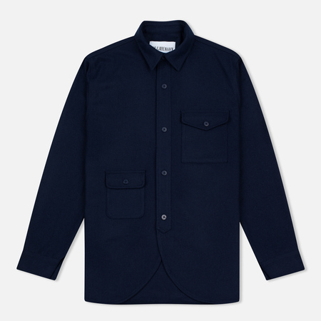 Han Kjobenhavn Army Men's Shirt Navy
