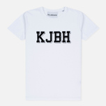 Мужская футболка Han Kjobenhavn Block White фото- 0