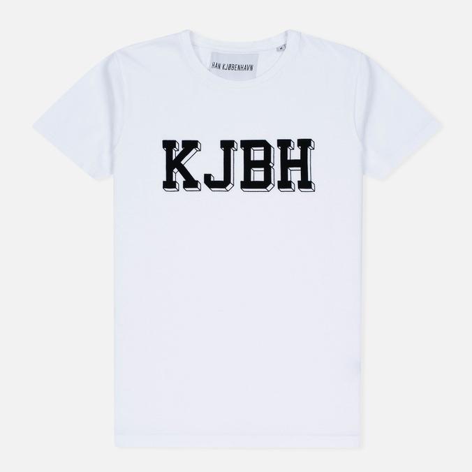 Мужская футболка Han Kjobenhavn Block White