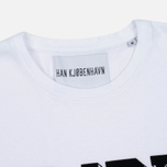 Мужская футболка Han Kjobenhavn Block White фото- 1