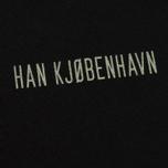 Мужская футболка Han Kjobenhavn Casual Small Chest Logo Black фото- 2