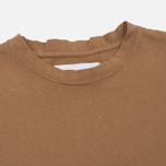 Мужская футболка Han Kjobenhavn Casual Small Chest Logo Brown фото- 1