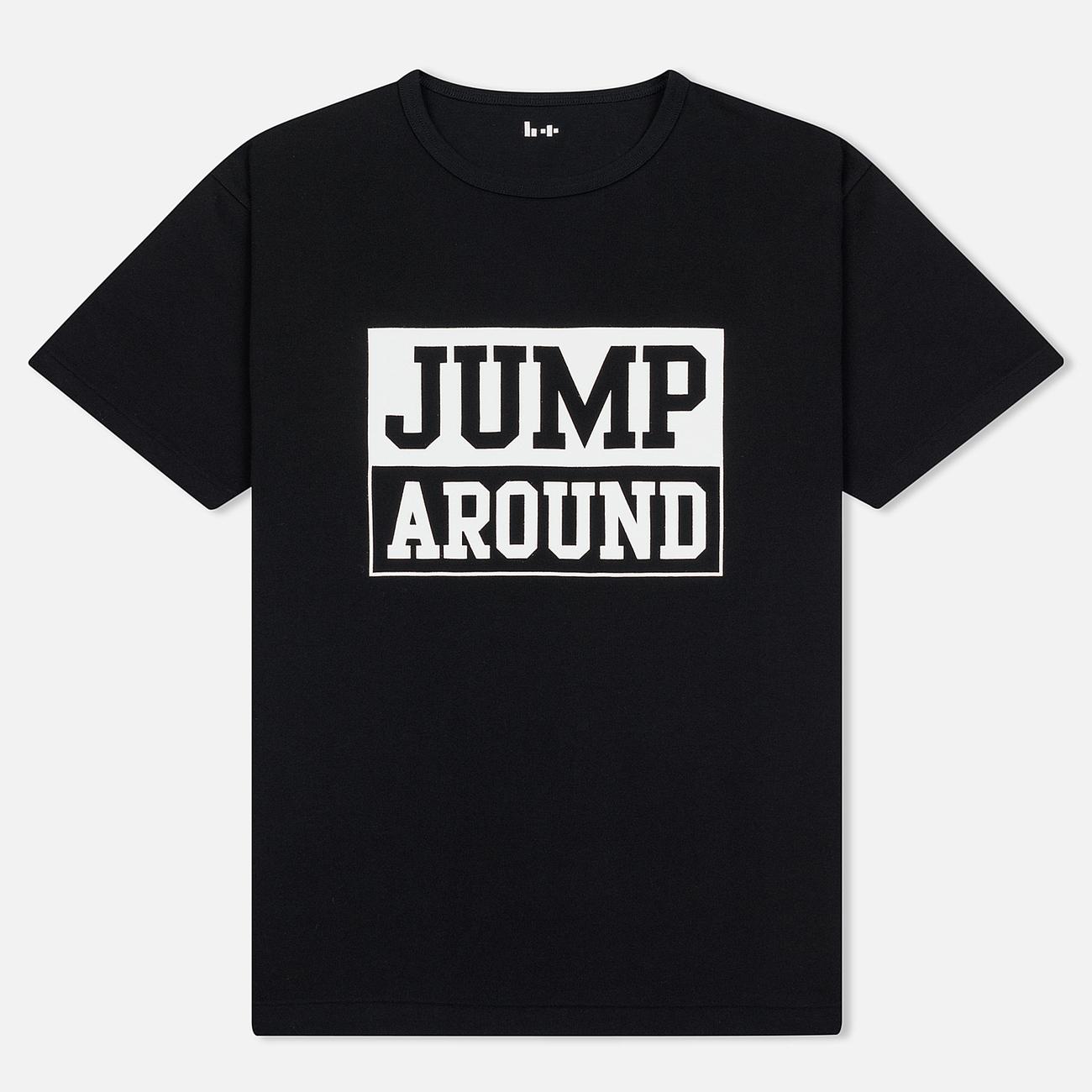 Мужская футболка Head Porter Plus Jump Around Black