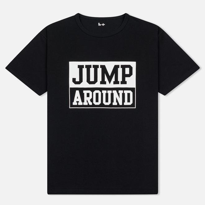 Мужская футболка Head Porter Plus Jump Around Black