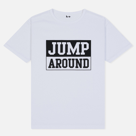 Мужская футболка Head Porter Plus Jump Around White