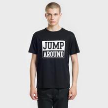 Мужская футболка Head Porter Plus Jump Around Black фото- 1