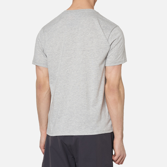 Мужская футболка Helly Hansen HH Logo Grey Melange/Grey