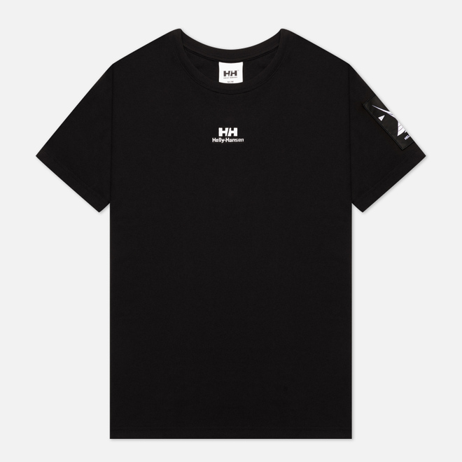 Мужская футболка Helly Hansen Yu Twin Logo Black