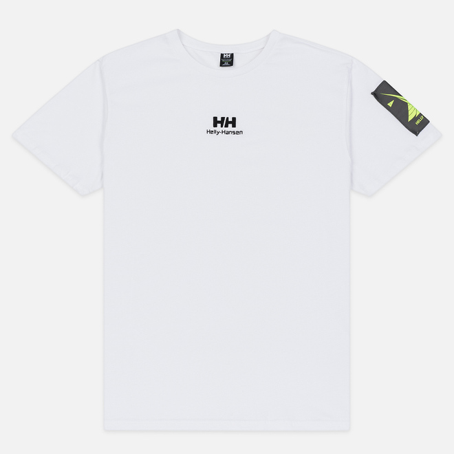Мужская футболка Helly Hansen Yu Twin Logo White