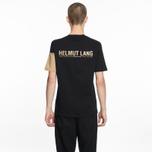 Мужская футболка Helmut Lang Band Logo Black/Camel фото- 4