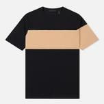 Мужская футболка Helmut Lang Band Logo Black/Camel фото- 0