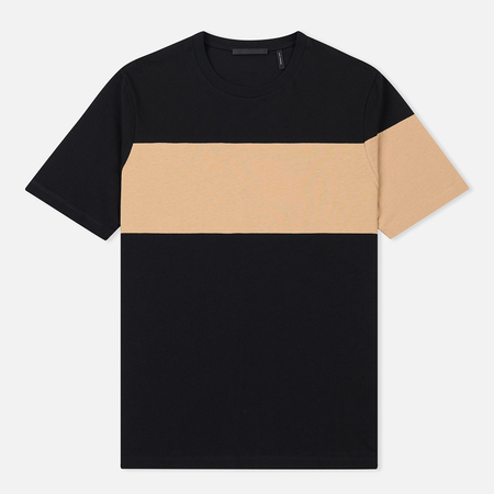 Мужская футболка Helmut Lang Band Logo Black/Camel