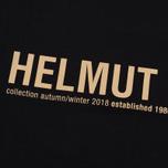 Мужская футболка Helmut Lang Band Logo Black/Camel фото- 2