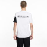Мужская футболка Helmut Lang Band Logo White/Black фото- 4