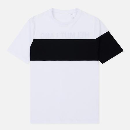 Мужская футболка Helmut Lang Band Logo White/Black