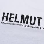 Мужская футболка Helmut Lang Band Logo White/Black фото- 2