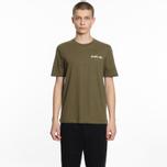 Мужская футболка Helmut Lang Dart Back Crew Military фото- 3