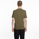 Мужская футболка Helmut Lang Dart Back Crew Military фото- 4