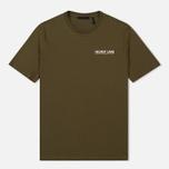 Мужская футболка Helmut Lang Dart Back Crew Military фото- 0