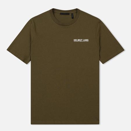 Мужская футболка Helmut Lang Dart Back Crew Military