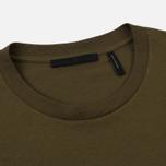 Мужская футболка Helmut Lang Dart Back Crew Military фото- 1