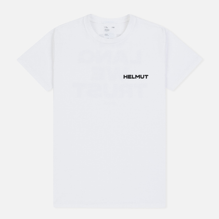 Мужская футболка Helmut Lang Little With Print Chalk White