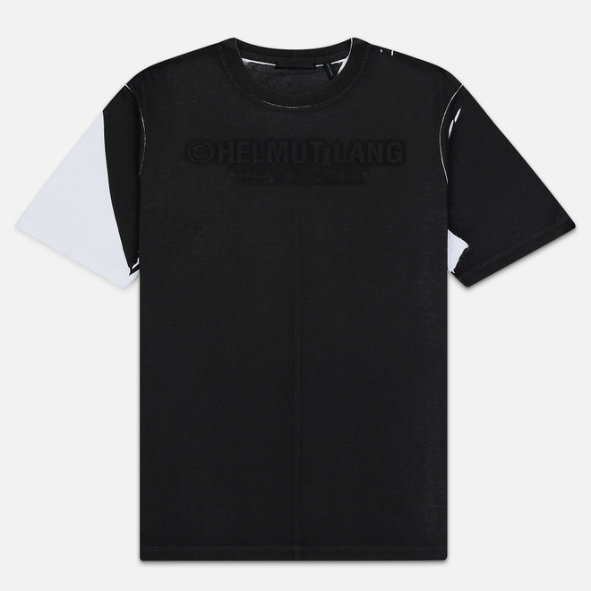 Мужская футболка Helmut Lang Square White/Black
