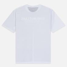 Мужская футболка Helmut Lang Square White/Black фото- 1