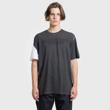 Мужская футболка Helmut Lang Square White/Black фото- 2