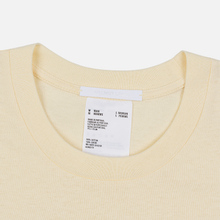 Мужская футболка Helmut Lang Standard Monogram Pearl фото- 1
