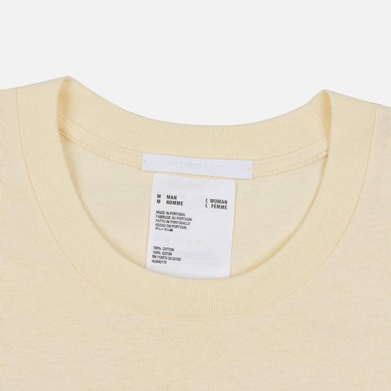 Мужская футболка Helmut Lang Standard Monogram Pearl