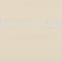 Мужская футболка Helmut Lang Standard Monogram Pearl фото- 2