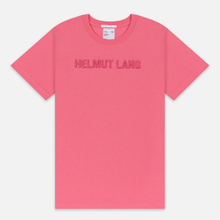 Мужская футболка Helmut Lang Standard Monogram Prism Pink фото- 0