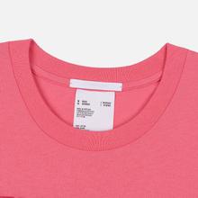 Мужская футболка Helmut Lang Standard Monogram Prism Pink фото- 1