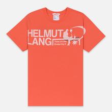 Мужская футболка Helmut Lang Standard Pelvis Generic Opal Red фото- 0
