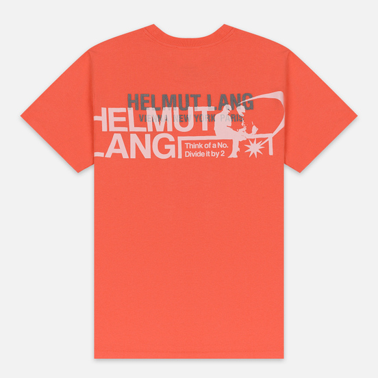 Мужская футболка Helmut Lang Standard Pelvis Generic Opal Red