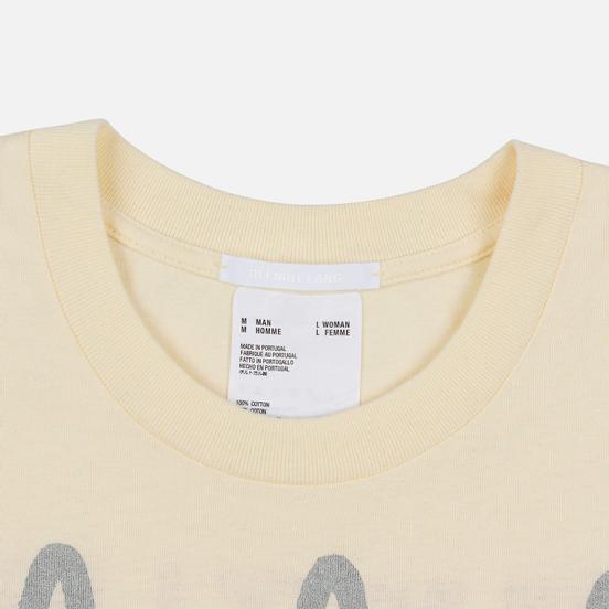 Мужская футболка Helmut Lang Standard Pelvis Generic Pearl