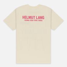 Мужская футболка Helmut Lang Standard Pelvis Generic Pearl фото- 3