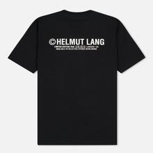 Мужская футболка Helmut Lang Taxi Black фото- 1