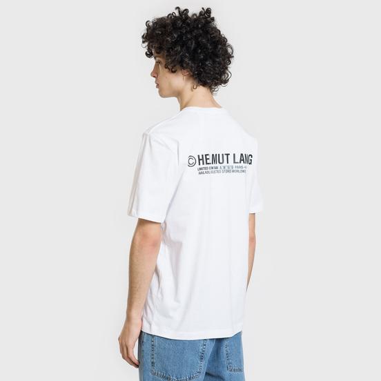 Мужская футболка Helmut Lang Taxi White