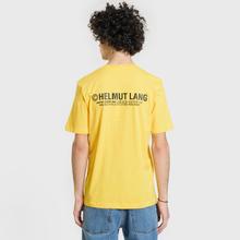 Мужская футболка Helmut Lang Taxi Yellow фото- 4