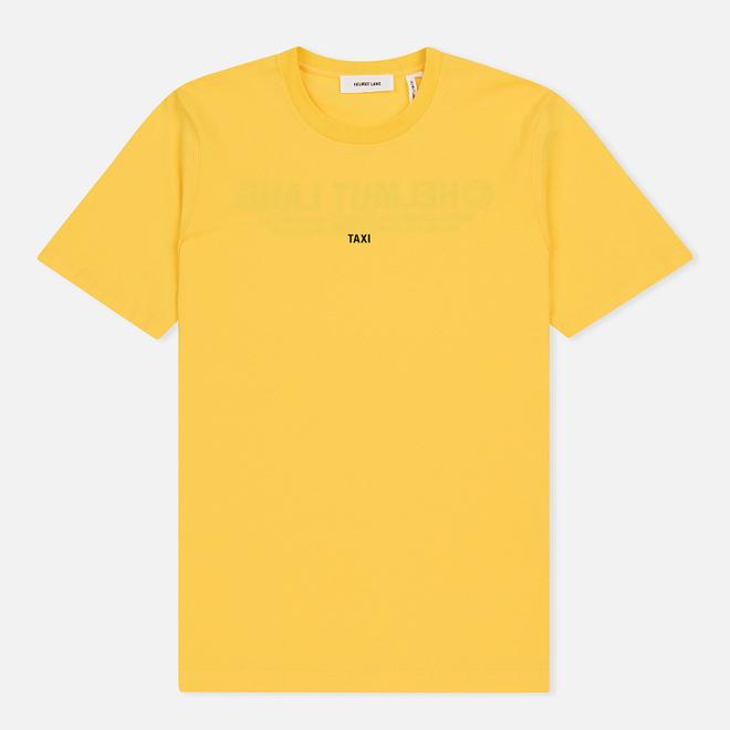 Мужская футболка Helmut Lang Taxi Yellow