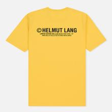 Мужская футболка Helmut Lang Taxi Yellow фото- 1