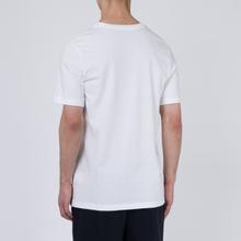 Мужская футболка Jordan Air Wordmark White/Black/Infrared фото- 3