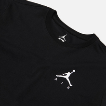 Мужская футболка Jordan Jumpman Air Embroidered Black/White фото- 1