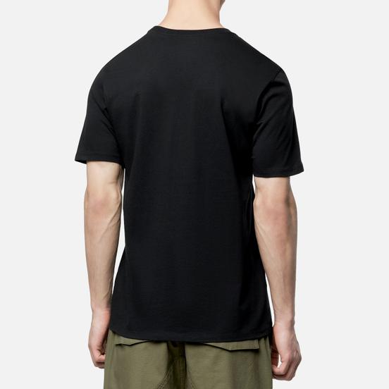 Мужская футболка Jordan Jumpman Air Embroidered Black/White
